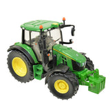 Image of the John Deere 6120M Children's Toy Tractor in classic John Deere green
