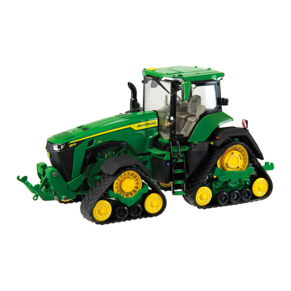 John Deere 8RX 410 Model in classic John Deere green from the side