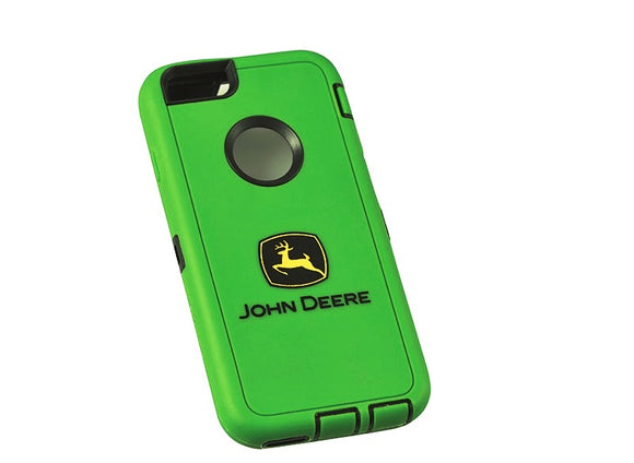 John Deere outdoor iphone 6 case in classic John Deere green. Features the John Deere logo on the back