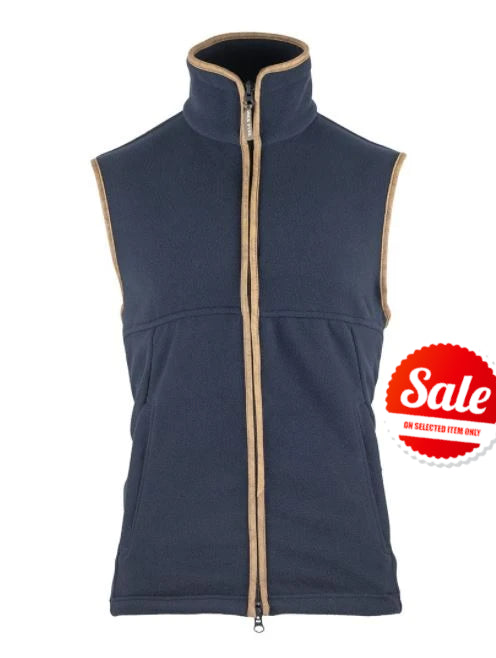 Product image of the blue countryman fleece gilet by Jack Pyke