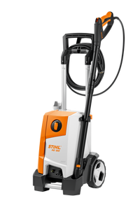 STIHL 120 Pressure Washer in orange and white