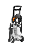 The STIHL RE 90 Pressure Washer from behind