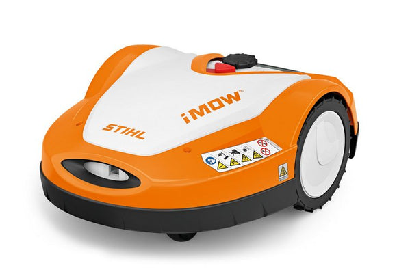 STIHL RM 632 PS IMOW orange robotic mower with white details