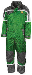 John Deere Waterproof Padded Overall - Green