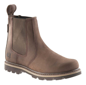 Buckler B1400 non-safety boot in chocolate oil leather