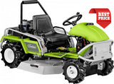 Product image of the GRILLO CLIMBER 9.18 ride on hydrostatic brush cutter in green and black