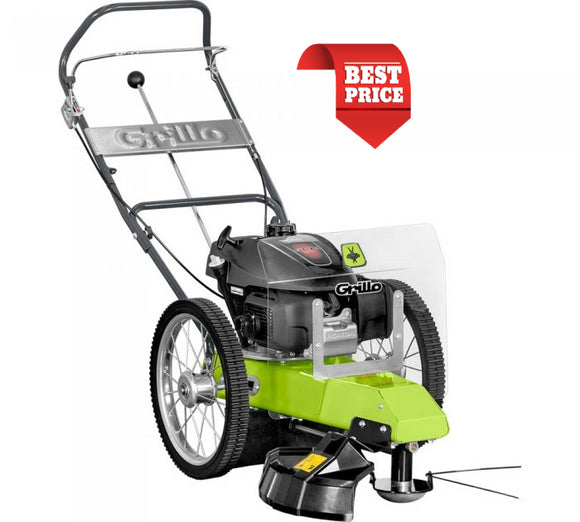 Product image showing the GRILLO 550 HWD TILT wheeled trimmer