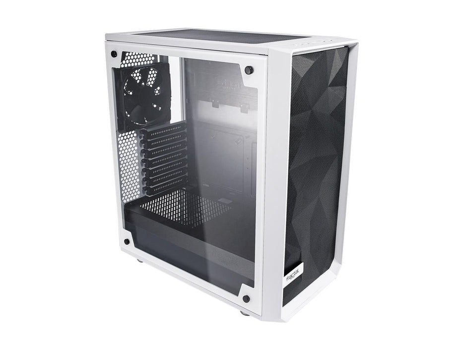 Fractal Design Meshify 2 White ATX Flexible Tempered Glass Window Mid Tower Computer Case