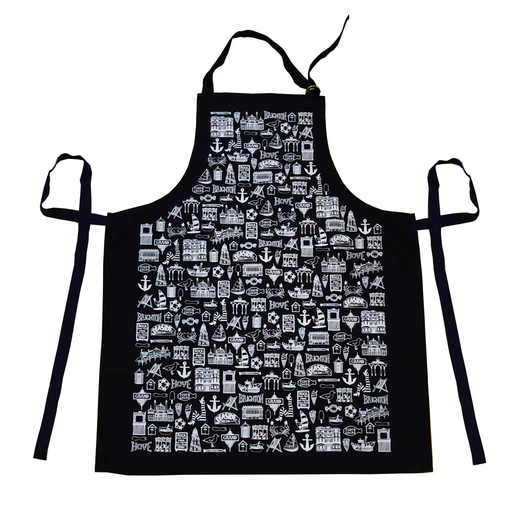 Illustrated Brighton Apron