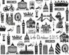 Personalised London wedding print close up of date