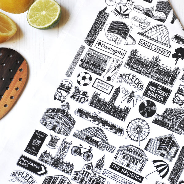 Manchester Tea-Towel