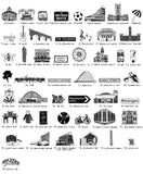 Manchester illustrated wall art - Large