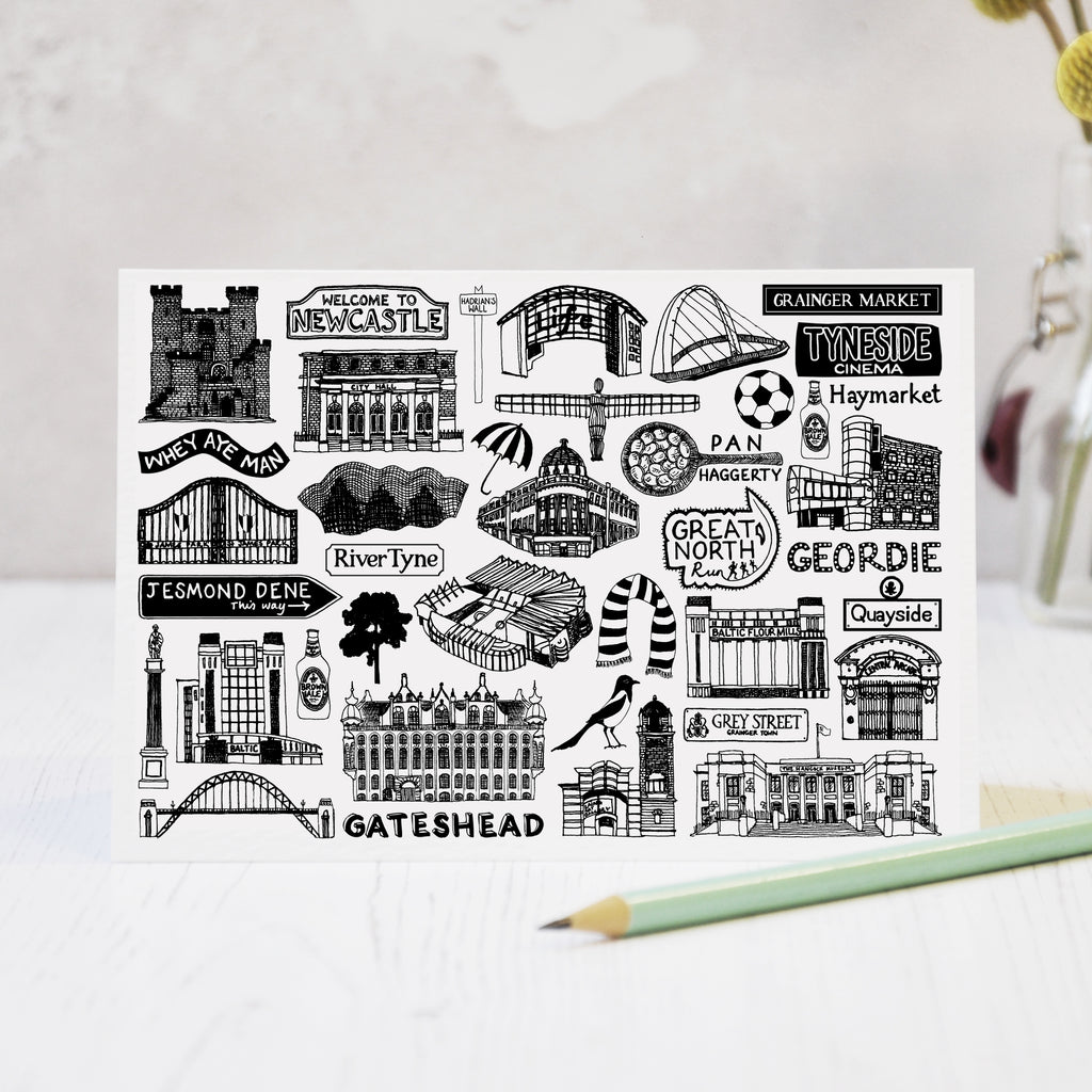 Newcastle Greeting Card