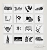 Scotland Tile Frame - Large