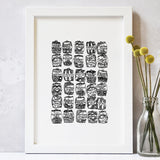Sweets Illustrated Print