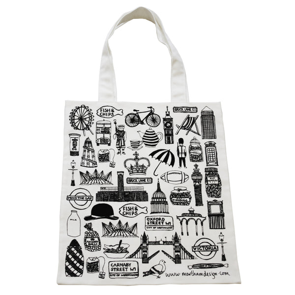 British tote bag