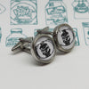 Illustrated Haggis Cufflinks