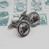 Illustrated Royal Pavilion Cufflinks