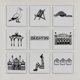 Brighton illustrated wall art (small)