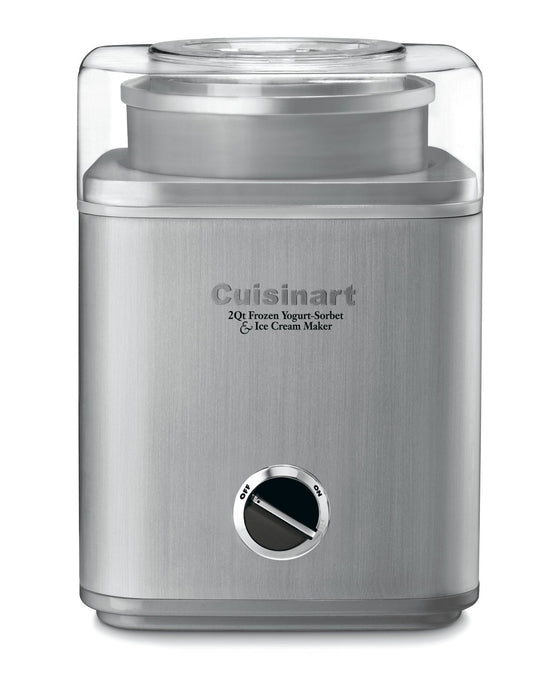 Cuisinart Pure Indulgence 2-Quart Frozen Yogurt and Ice Cream Maker