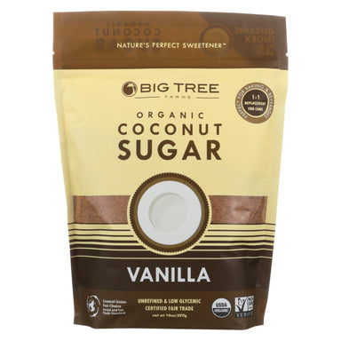 Coconut Palm Sugar - Vanilla - Case Of 6 - 14 Oz.