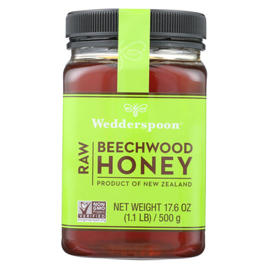 Wedderspoon Honey - Beechwood - 100 Percent Raw
