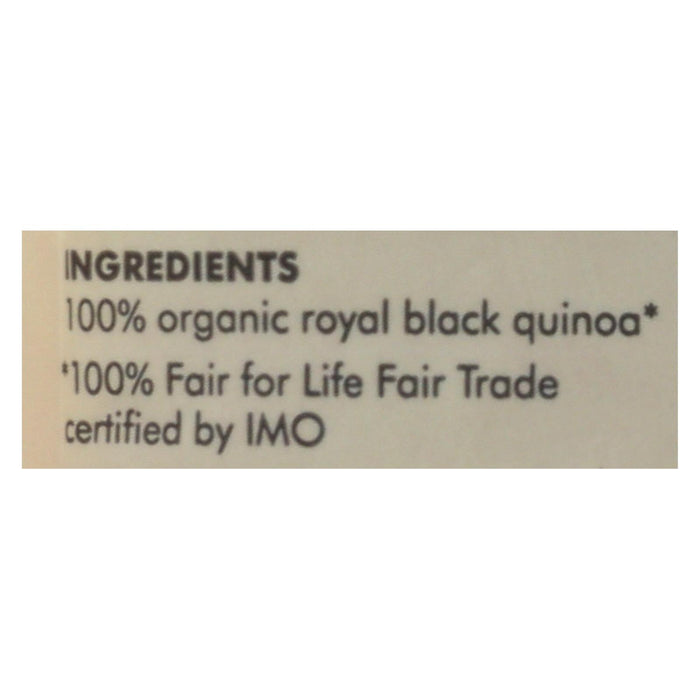 Quinoa - Organic Black Heirloom - Case Of 6