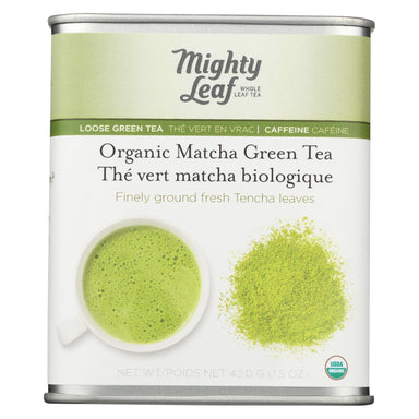 Mighty Leaf Tea - Organic Matcha - Case Of 6