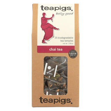 Teapigs Chai Bolly Good Tea With Cinnamon Ginger And Vanilla - Case Of 6