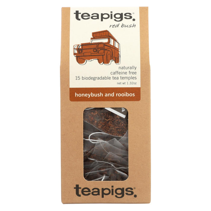 Teapigs Honeybush And Rooibos Red Bush Tea  - Case Of 6