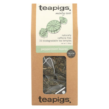 Teapigs Peppermint Leaves Minty Cool Tea  - Case Of 6