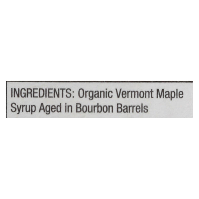 Organic Maple Syrup - Bourbon Barrel Aged - Case Of 6