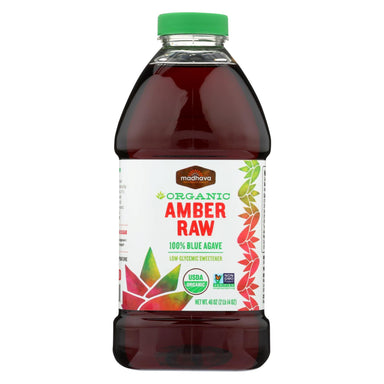 Agave Nectar - Organic - Amber - Case Of 4