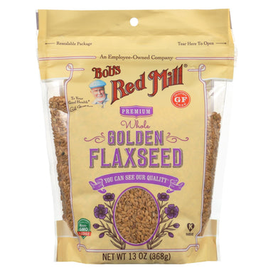 Flaxseeds - Golden - Case Of 6
