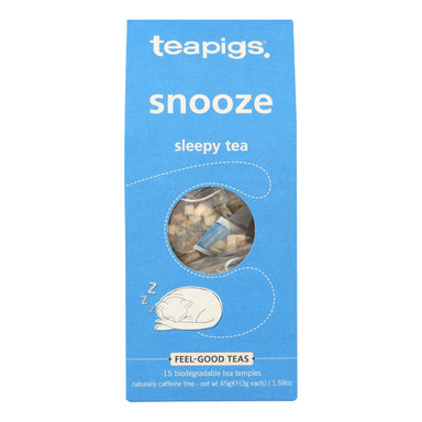 Teapigs - Tea Snooze Sleepy - Case Of 6
