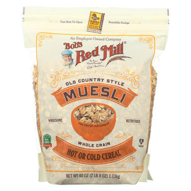 Cereal - Muesli - Hot Or Cold - Case Of 4