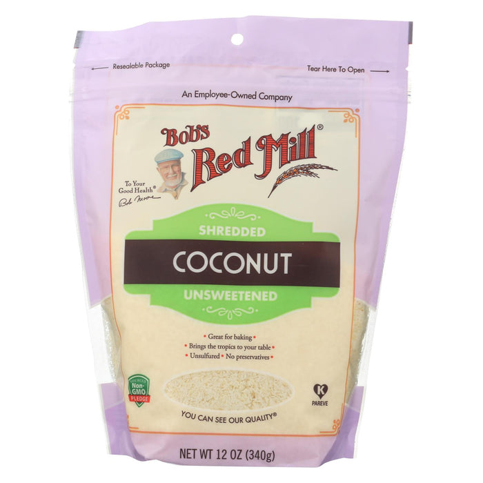 Coconut Shredded - Case Of 4