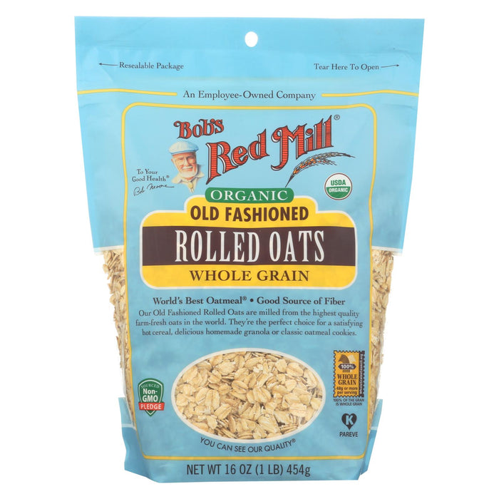 Organic Old Fashioned Rolled Oats - Case Of 4