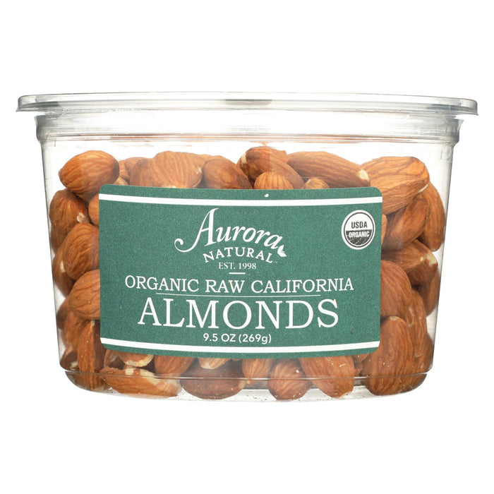 Organic Raw California Almonds - Case Of 12