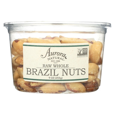Raw Whole Brazil Nuts - Case Of 12 - 9 Oz.