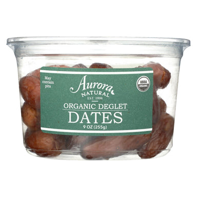 Organic Deglet Dates - Case Of 12 - 9 Oz.