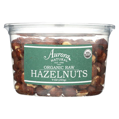 Organic Raw Hazelnuts - Case Of 12 - 9 Oz.