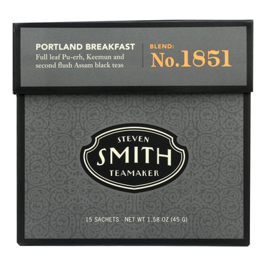 Smith Teamaker - Tea Black Portland Breakfast - Case Of 6 - 15 Bag