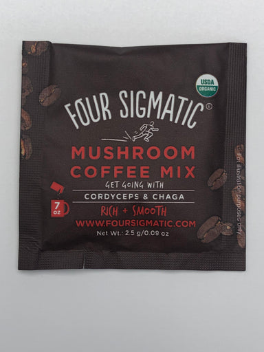 Mushroom Coffee Mix - Cordyceps And Chaga  - 10 packets