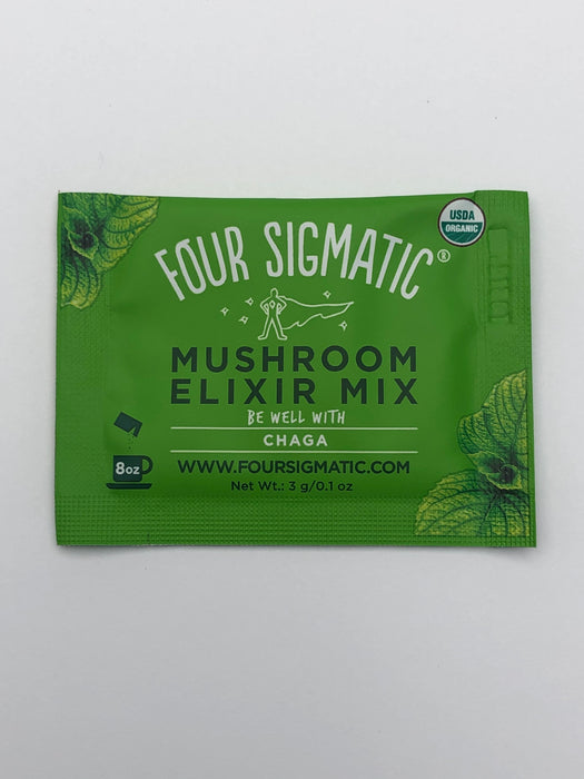 Mushroom Elixir - with Chaga - 20 Packets