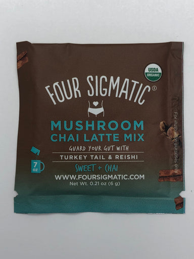 Mushroom Chai Latte - Organic Turkey Tail And Reishi  - 10 packets