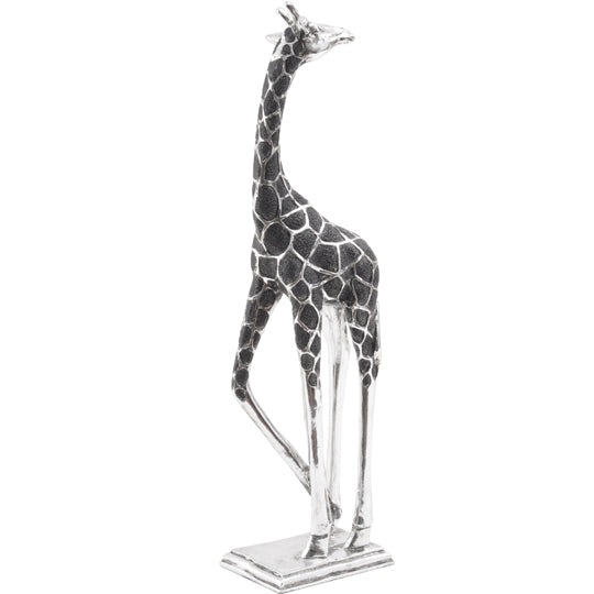 Libra Giraffe Head Back Sculpture