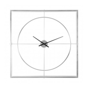 Metal Frame Wall Clock