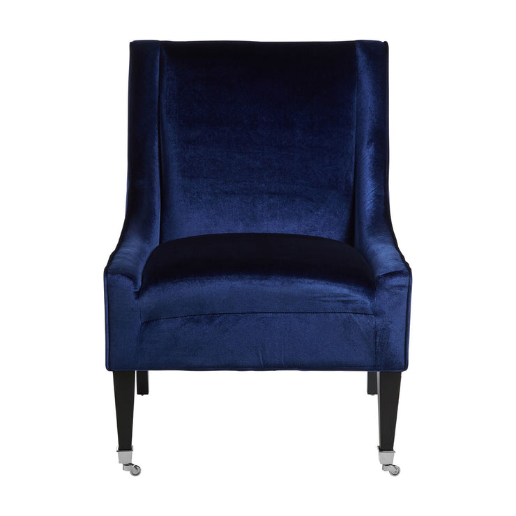 Clinton Blue Occasional Chair