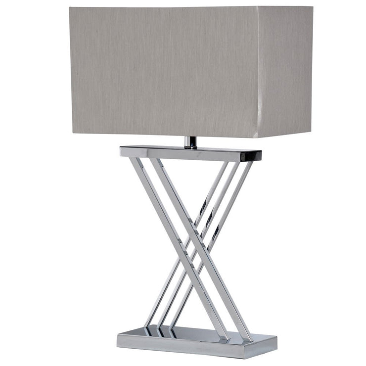 'X' Base Table Lamp